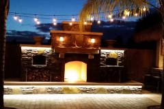 Outdoor-fireplace-lighting